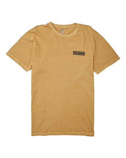 3 Taxicab Short Sleeve T-Shirt Yellow MT132BTC Billabong