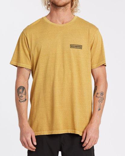 0 Taxicab Short Sleeve T-Shirt Yellow MT132BTC Billabong