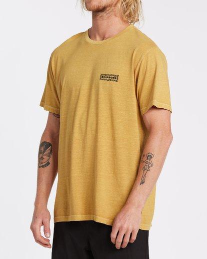 1 Taxicab Short Sleeve T-Shirt Yellow MT132BTC Billabong