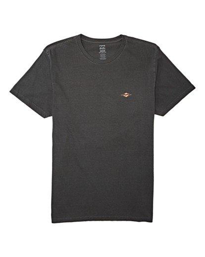 3 Trouble Short Sleeve T-Shirt White MT132BTR Billabong