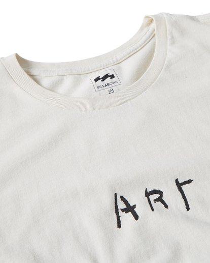 2 Art T-Shirt Brown MT13TBAT Billabong