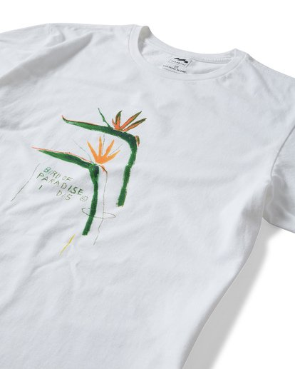 2 Bird Of Paradise T-Shirt White MT13TBBI Billabong