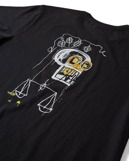 2 Justice T-Shirt Black MT13TBJU Billabong