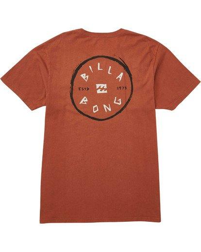 1 Roto Hand T-Shirt Red MT13TBRH Billabong