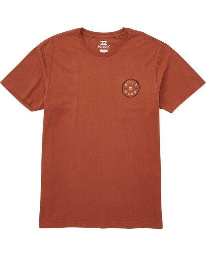 0 Roto Hand T-Shirt Red MT13TBRH Billabong