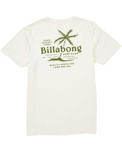 1 Surf Club T-Shirt  MT13TBSC Billabong