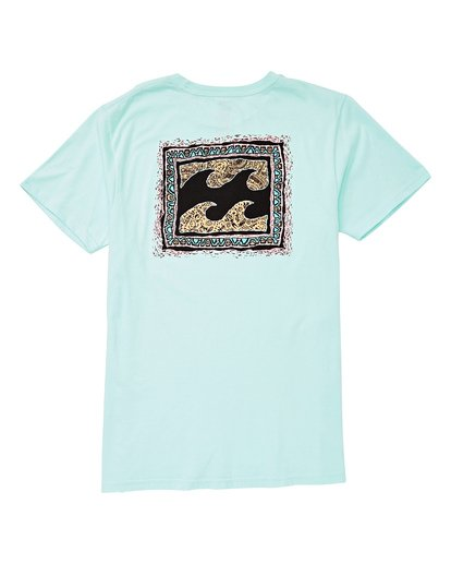1 Warp Short Sleeve T-Shirt Blue MT13UBWA Billabong