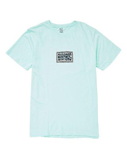0 Warp Short Sleeve T-Shirt Blue MT13UBWA Billabong