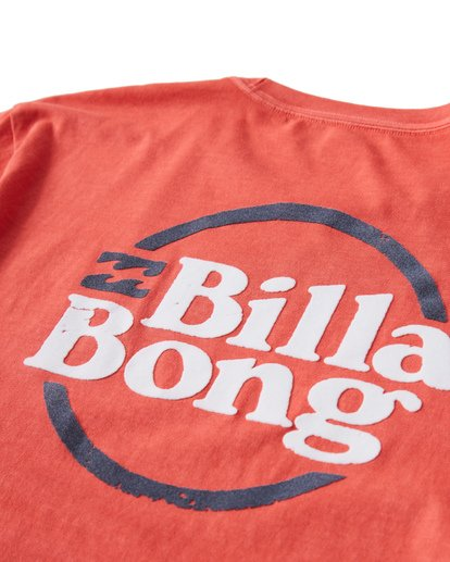 3 Cruise T-Shirt Red MT13VBCR Billabong