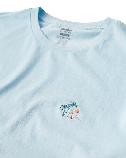 2 Jungle T-Shirt Blue MT13VBJU Billabong