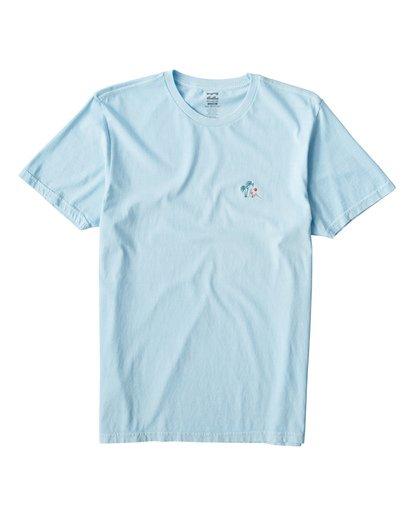 0 Jungle T-Shirt Blue MT13VBJU Billabong