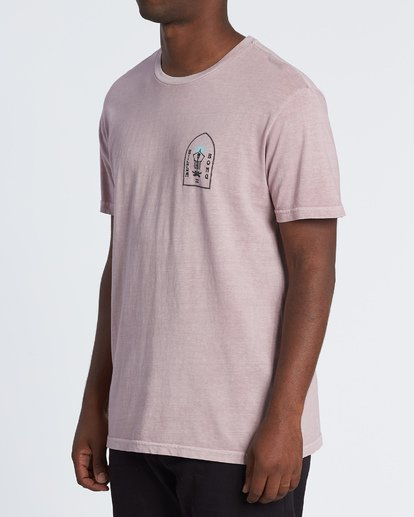 1 Shaman T-Shirt Purple MT13VBSH Billabong