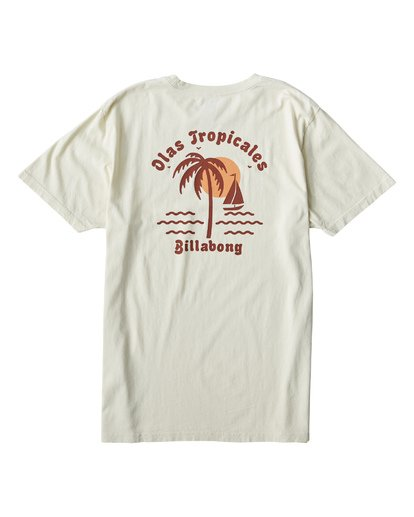 1 Tropicales T-Shirt White MT13VBTR Billabong