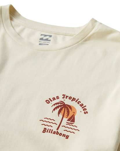 2 Tropicales T-Shirt White MT13VBTR Billabong