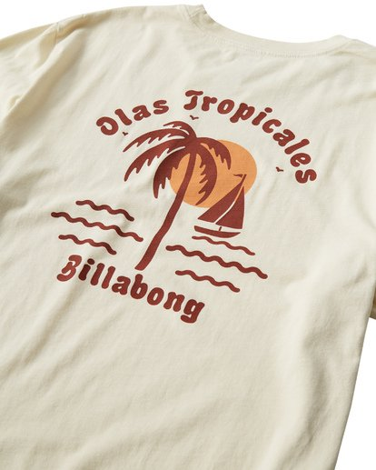 3 Tropicales T-Shirt White MT13VBTR Billabong