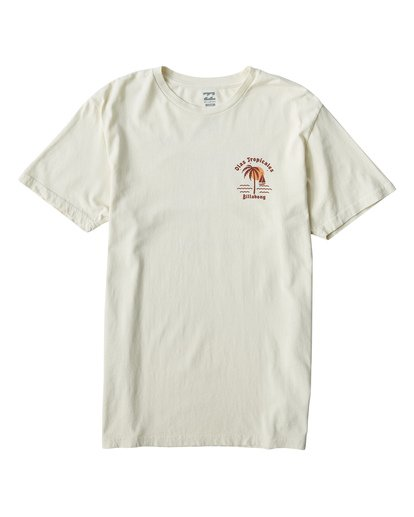 0 Tropicales T-Shirt Brown MT13VBTR Billabong