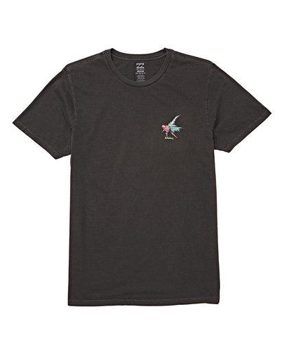 3 Islander Short Sleeve T-Shirt Grey MT13WBIS Billabong