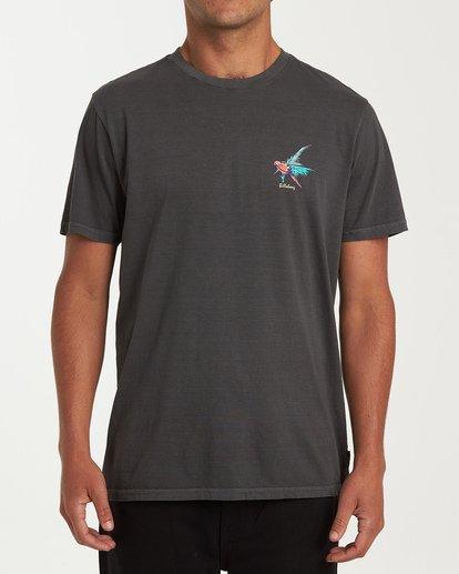 0 Islander Short Sleeve T-Shirt Grey MT13WBIS Billabong