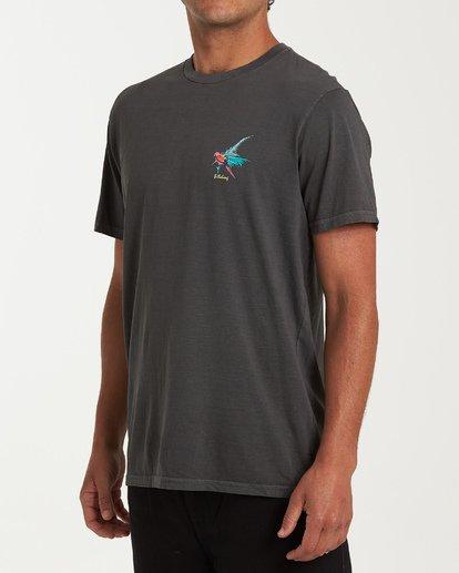 1 Islander Short Sleeve T-Shirt Grey MT13WBIS Billabong