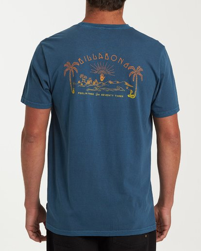 2 Mysto Short Sleeve T-Shirt Blue MT13WBMY Billabong
