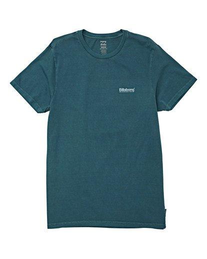 0 Pacific Short Sleeve T-Shirt Green MT13WBPA Billabong