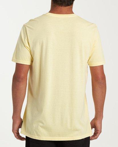 2 Seaside Short Sleeve T-Shirt Yellow MT13WBSE Billabong