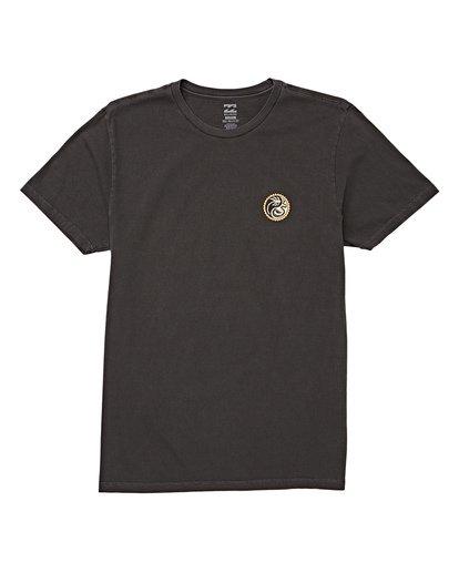 3 Yang Short Sleeve T-Shirt White MT13WBYA Billabong