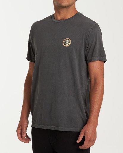 1 Yang Short Sleeve T-Shirt White MT13WBYA Billabong