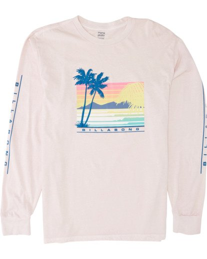 3 Coastline Long Sleeve T-Shirt  MT431BCO Billabong