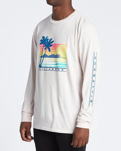 1 Coastline Long Sleeve T-Shirt  MT431BCO Billabong