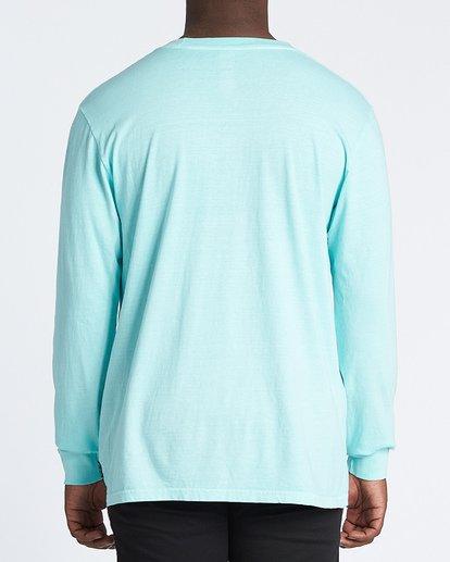 2 Coastline Long Sleeve T-Shirt Grey MT431BCO Billabong