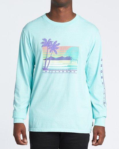 0 Coastline Long Sleeve T-Shirt Grey MT431BCO Billabong