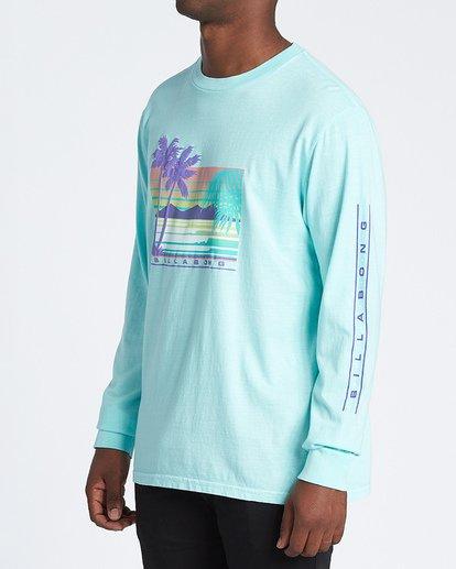 1 Coastline Long Sleeve T-Shirt Grey MT431BCO Billabong