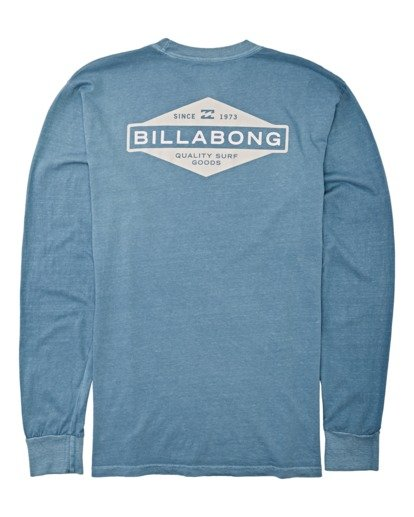 4 Auto Shop Long Sleeve T-Shirt Grey MT432BAU Billabong
