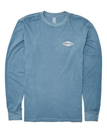 3 Auto Shop Long Sleeve T-Shirt Grey MT432BAU Billabong