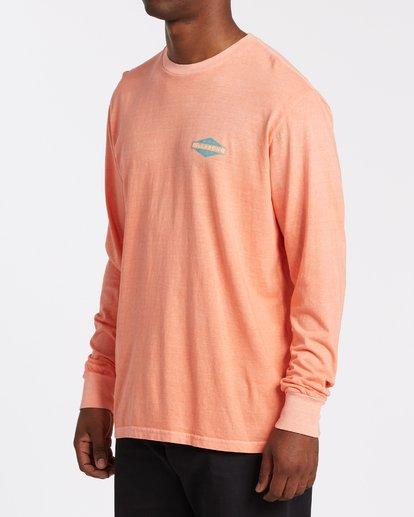 1 Auto Shop Long Sleeve T-Shirt Orange MT432BAU Billabong