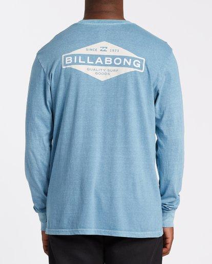 2 Auto Shop Long Sleeve T-Shirt Grey MT432BAU Billabong