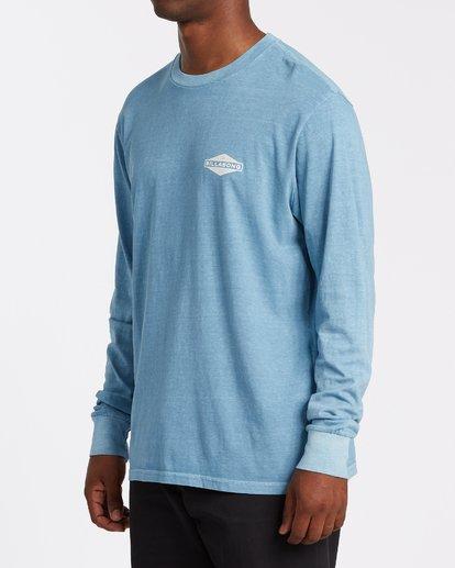 1 Auto Shop Long Sleeve T-Shirt Grey MT432BAU Billabong