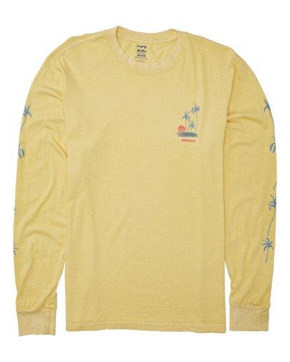 3 Cruiser Long Sleeve T-Shirt Yellow MT432BCU Billabong
