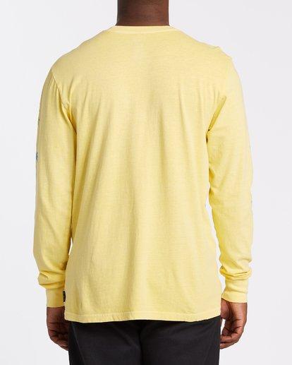 2 Cruiser Long Sleeve T-Shirt Yellow MT432BCU Billabong