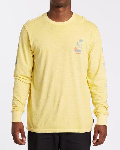0 Cruiser Long Sleeve T-Shirt Yellow MT432BCU Billabong