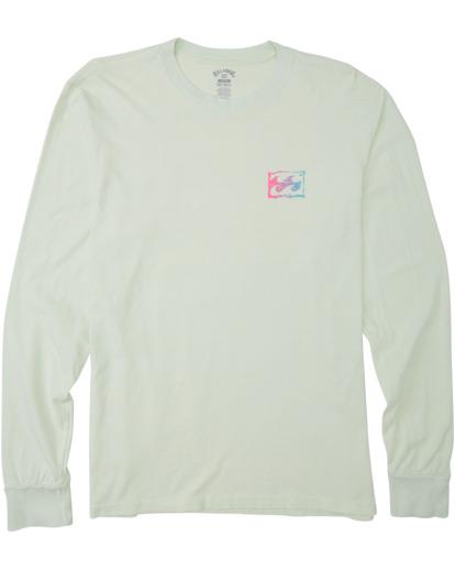 4 Crayon Wave Long Sleeve T-Shirt Multicolor MT433BCW Billabong