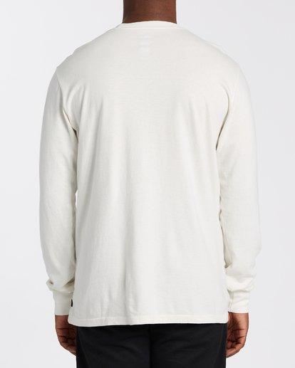 3 Hot Springs Long Sleeve T-Shirt White MT433BHS Billabong