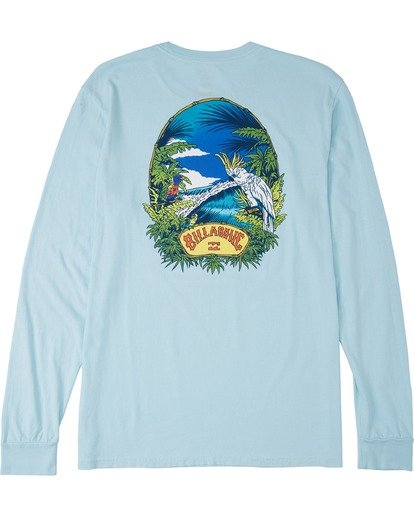 4 Marakesh Long Sleeve T-Shirt Blue MT433BMA Billabong