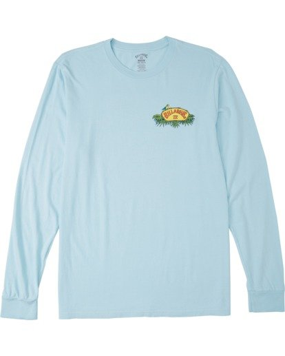 3 Marakesh Long Sleeve T-Shirt Blue MT433BMA Billabong