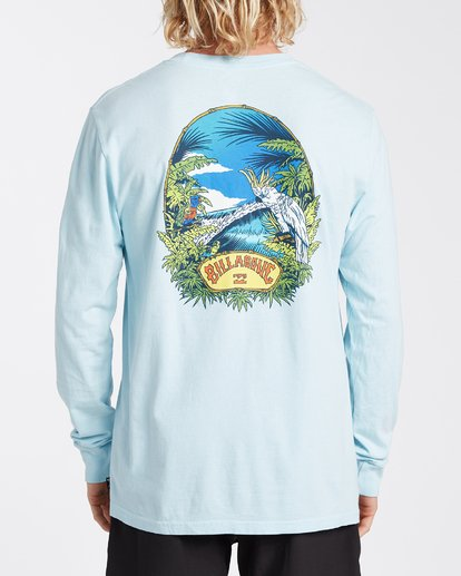 2 Marakesh Long Sleeve T-Shirt Blue MT433BMA Billabong