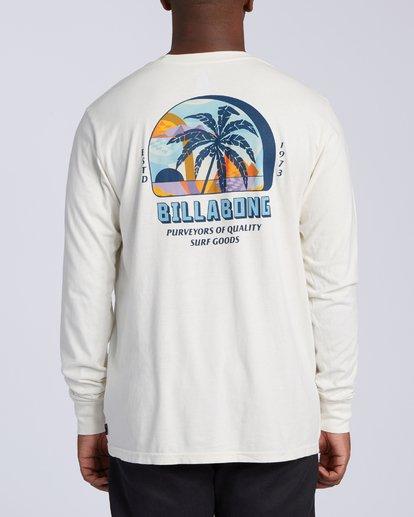 2 Marakesh Long Sleeve T-Shirt White MT433BMA Billabong