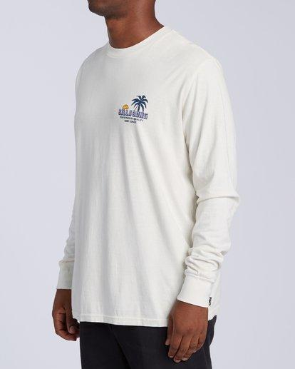 1 Marakesh Long Sleeve T-Shirt White MT433BMA Billabong