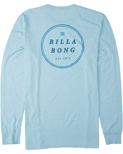 4 Rotor Long Sleeve T-Shirt Blue MT433BRO Billabong