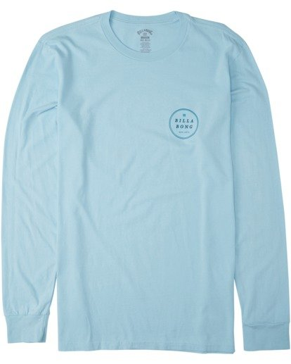 3 Rotor Long Sleeve T-Shirt Blue MT433BRO Billabong